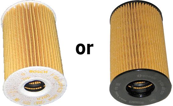 Bosch oil filter design